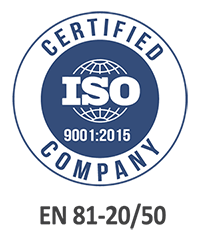 iso certified elevator company