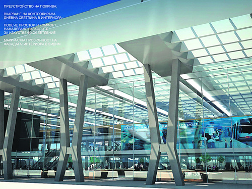 , Izamet manufactured and installed escalators and elevators at Central Railway Station – Sofia
