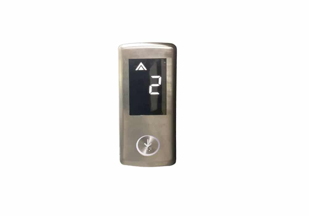 , Нови етажни бутониери с вграден дисплей за всеки етаж, без доплащане за всички нови асансьори